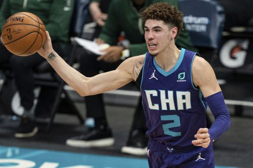 Ball has career-high 27 points, Hornets top Bucks 126-114
