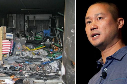 Officials release 911 calls related to fire that killed Tony Hsieh