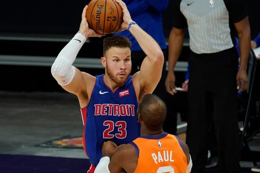 Pistons holding out Griffin while resolving his future
