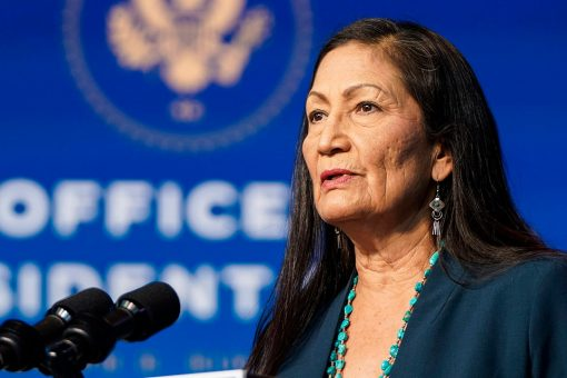 Manchin says he'll vote for Haaland for interior secretary