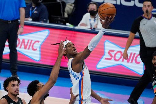 Gilgeous-Alexander scores 42 as Thunder top Spurs 102-99