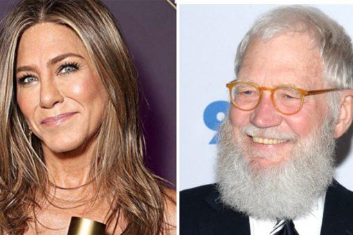 Jennifer Aniston fans slam David Letterman for licking her hair in resurfaced clip gone viral: 'Gross'