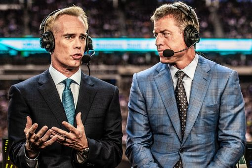 Joe Buck says he and Troy Aikman used to drink tequila in broadcast booth: 'It's a good mental trigger'