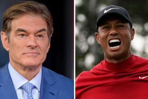 Dr. Oz predicts Tiger Woods will fully recover from injuries, return to golf course one day: 'Give him a year'