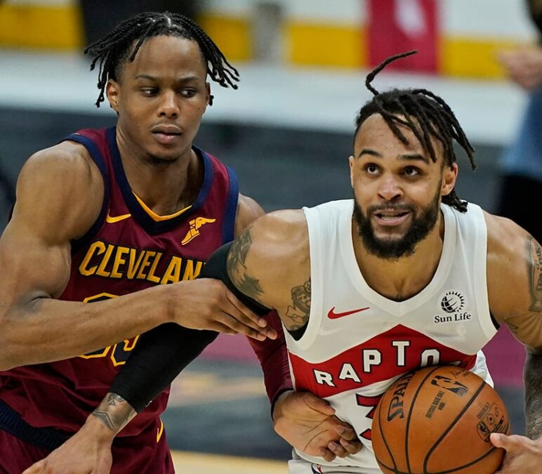 Trent scores career-high 44, Raptors rout Cavaliers 135-115