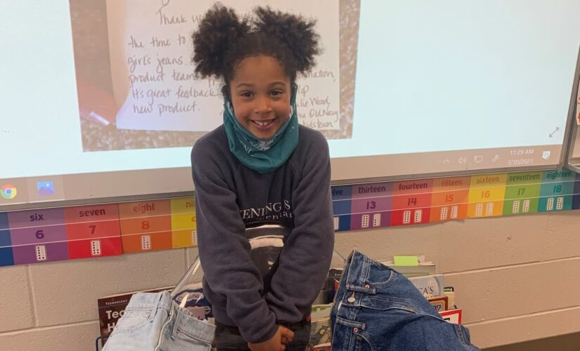 First grader persuades Old Navy to put pockets in girls' jeans