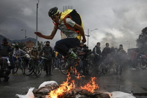 Colombia protests see at least 24 dead after 1 week
