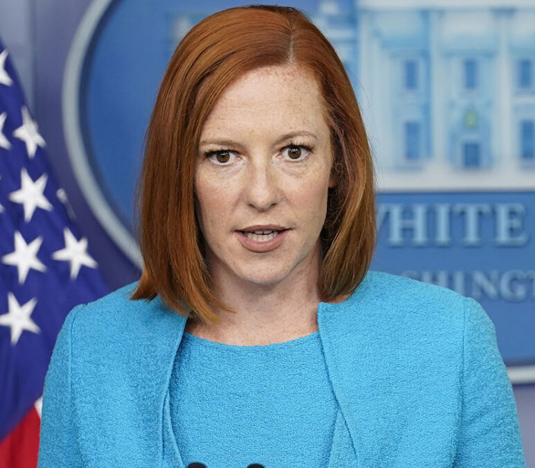 Biden administration not mandating COVID vaccines for White House staff, Psaki says