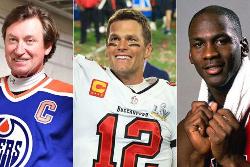 Bucs' Tom Brady likens himself to Wayne Gretzky, Michael Jordan after team passed on him: 'A no-brainer'
