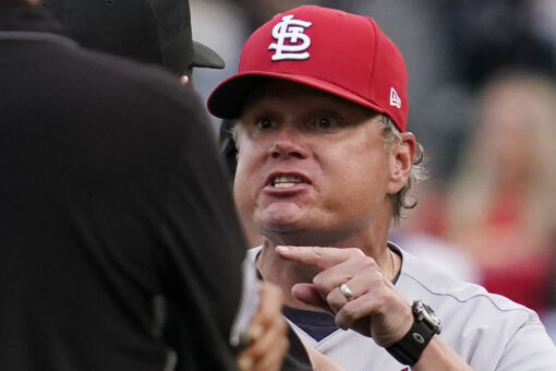 Umpire provides explanation for wild play in Cardinals-Cubs