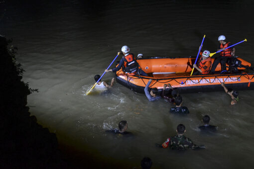 Indonesia river cleanup leads to 11 students drowning, 10 rescued