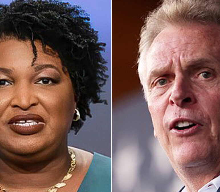 Stacey Abrams campaigns for McAuliffe in churches: 'Voting is an act of faith'